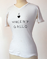 Vincent Gallo T-Shirt: Heart