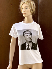 "01. ""FUCK FACE"" Vincent Gallo 2020 one-of-a-kind, hand made T-shirt"