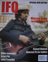 IFQ Magazine (USA, Issue 8, 2004, signed by Vincent Gallo)