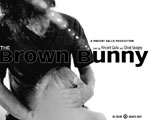 The Brown Bunny Poster Black & White Two Sheet