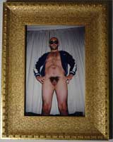 """Noe"" Photograph Of Gaspar Noe By Vincent Gallo, 2000"
