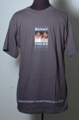 "Bunny ""Tours Japan"" T-Shirt (signed by Vincent Gallo)"