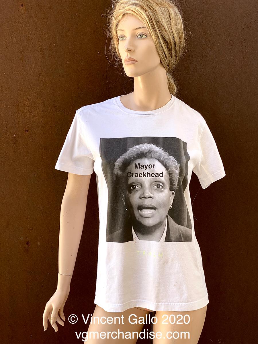 """13. """"CRACK MAYOR""""  Vincent Gallo 2020 (modeled)"""