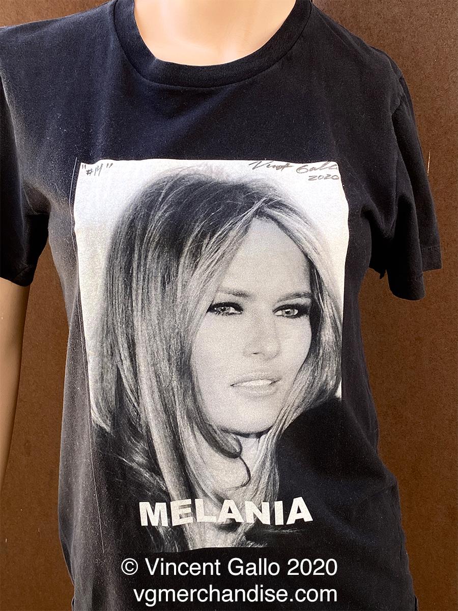 "14. ""Melania""  Vincent Gallo 2020 (modeled)"