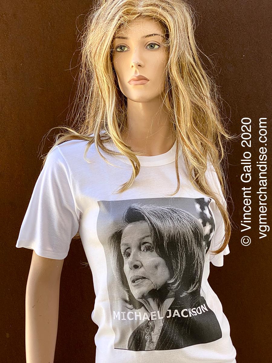 "16. ""MICHAEL JACKSON""  Vincent Gallo 2020 (modeled)"
