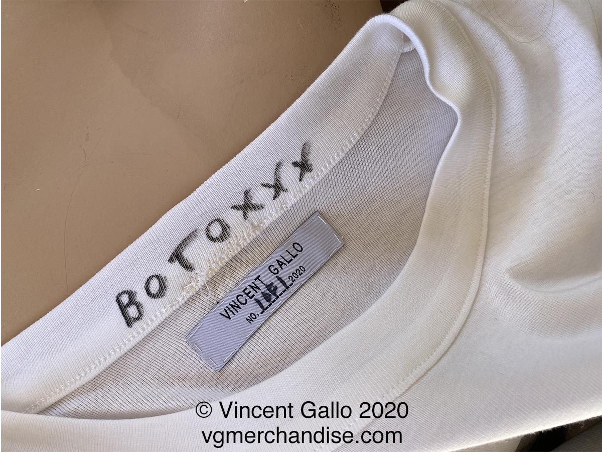 """16. """"MICHAEL JACKSON""""  Vincent Gallo 2020 (neck label)"""