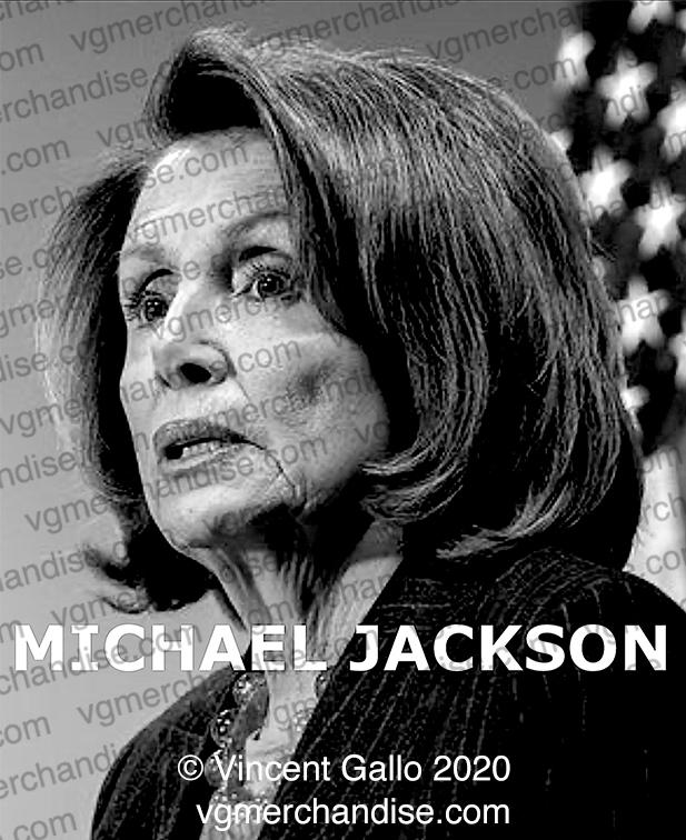 """16. """"MICHAEL JACKSON""""  Vincent Gallo 2020 (print detail)"""