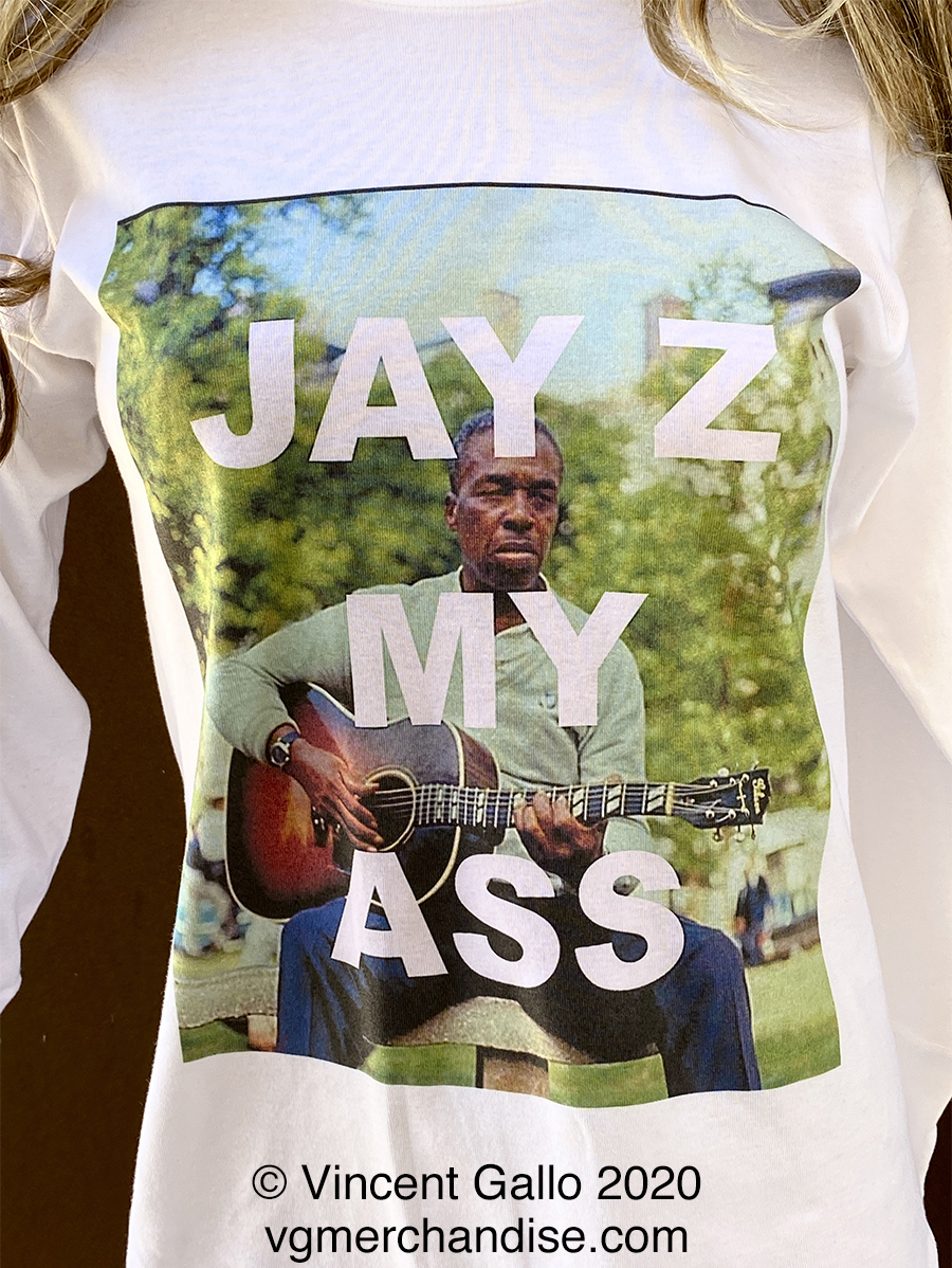 "19. ""JAY Z  MY ASS""  Vincent Gallo 2020 (modeled detail)"