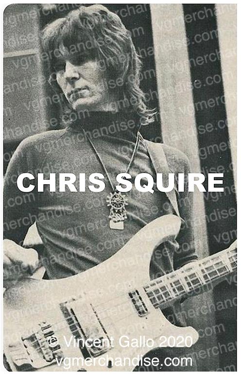 """28. """"CHRIS SQUIRE""""  Vincent Gallo 2020 (print detail)"""