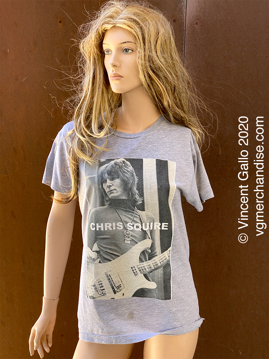"""28. """"CHRIS SQUIRE""""  Vincent Gallo 2020 (modeled)"""
