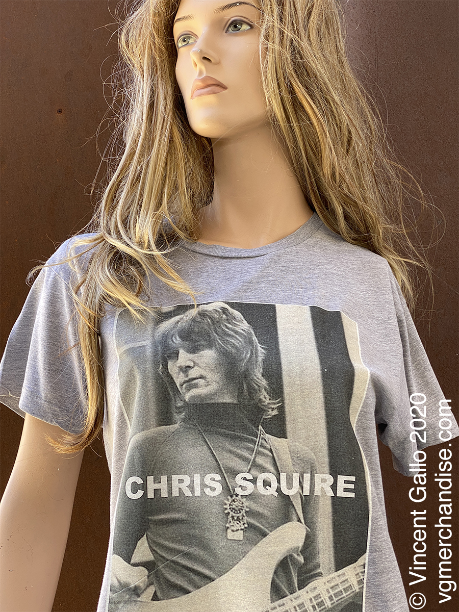 """28. """"CHRIS SQUIRE""""  Vincent Gallo 2020 (modeled detail)"""