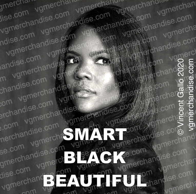"3. ""SMART BLACK BEAUTIFUL""  Vincent Gallo 2020 (print detail)"