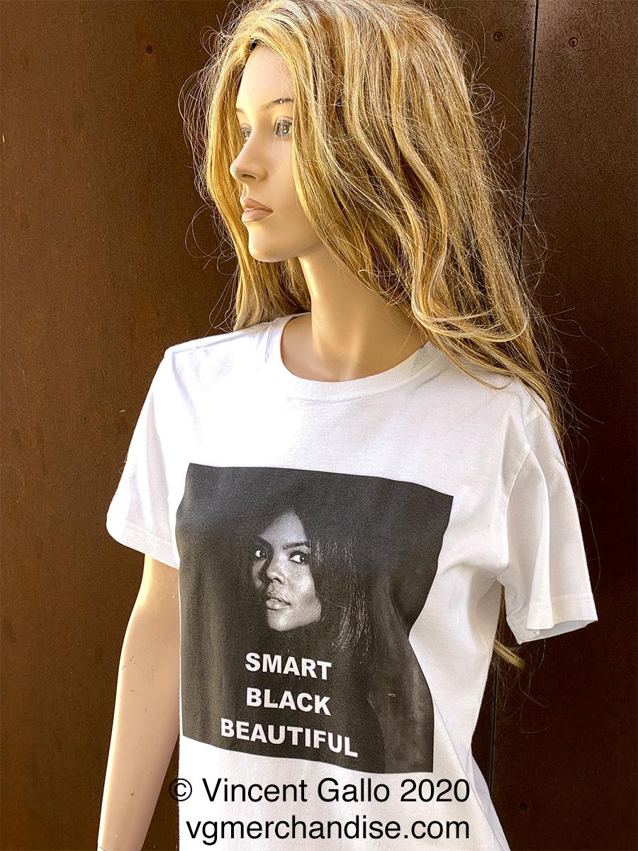 "3. ""SMART BLACK BEAUTIFUL""  Vincent Gallo 2020 (modeled)"