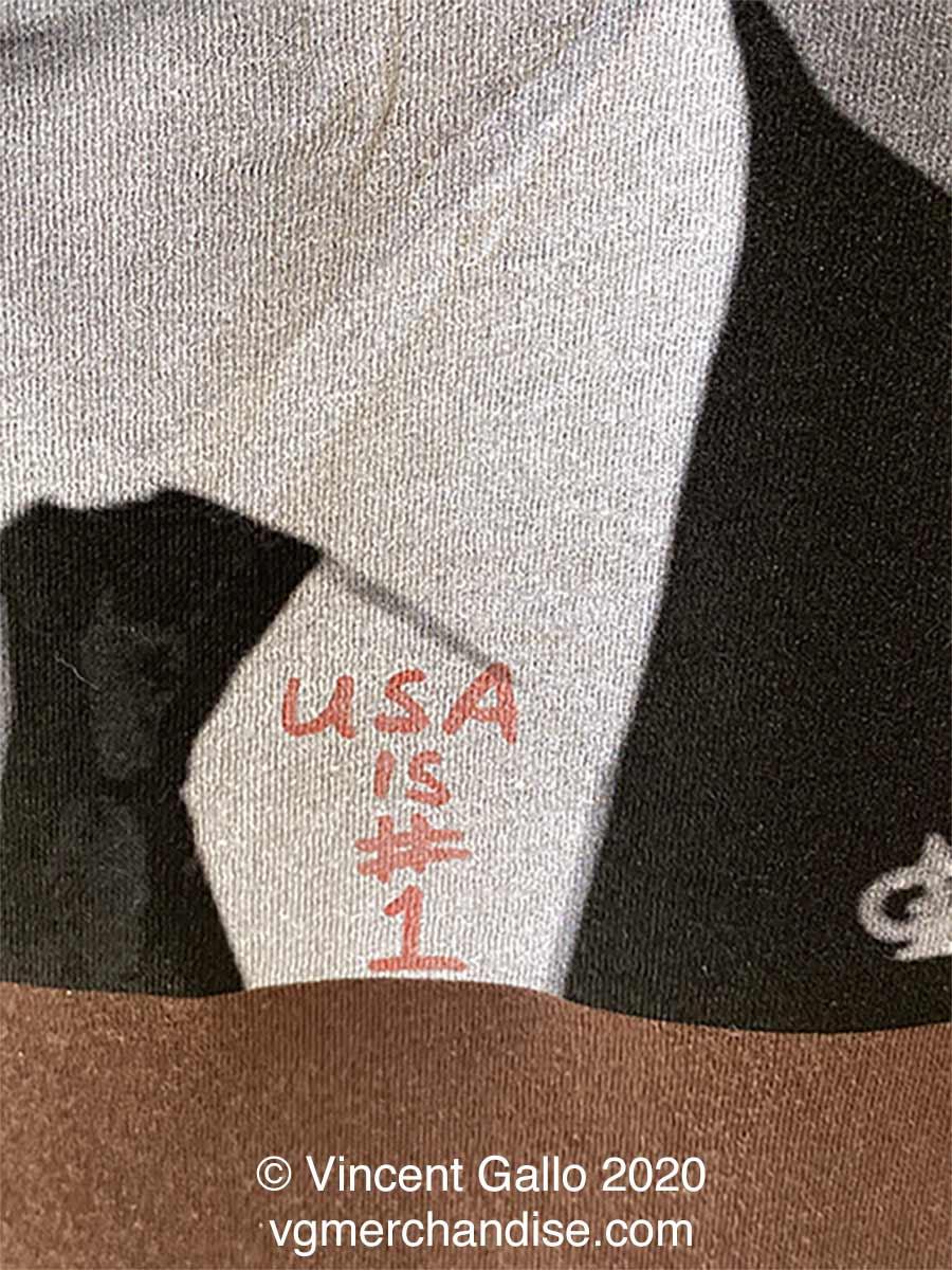 """39. """"FAG""""  Vincent Gallo 2020 (print detail modeled 2)"""