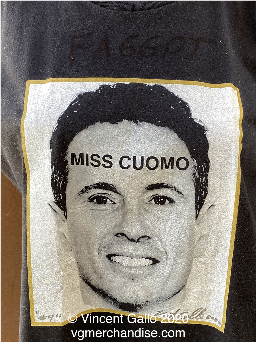"""4. """"MISS CUOMO""""  Vincent Gallo 2020 (modeled detail)"""