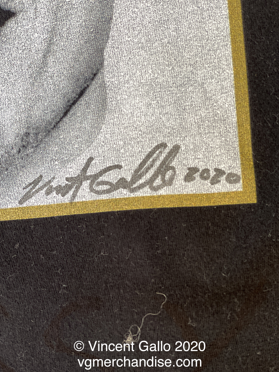 """4. """"MISS CUOMO""""  Vincent Gallo 2020 (signed print)"""