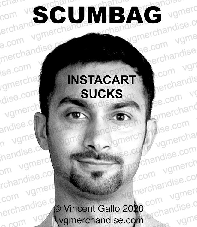 """46. """"SCUMBAG""""  Vincent Gallo 2020 (print detail)"""