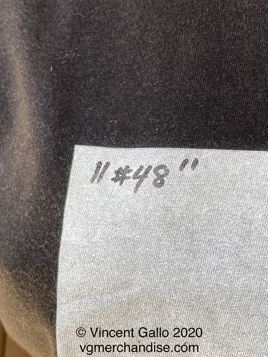 """48. """"WHITES FREED THE BLACKS""""  Vincent Gallo 2020 (print detail numbered)"""