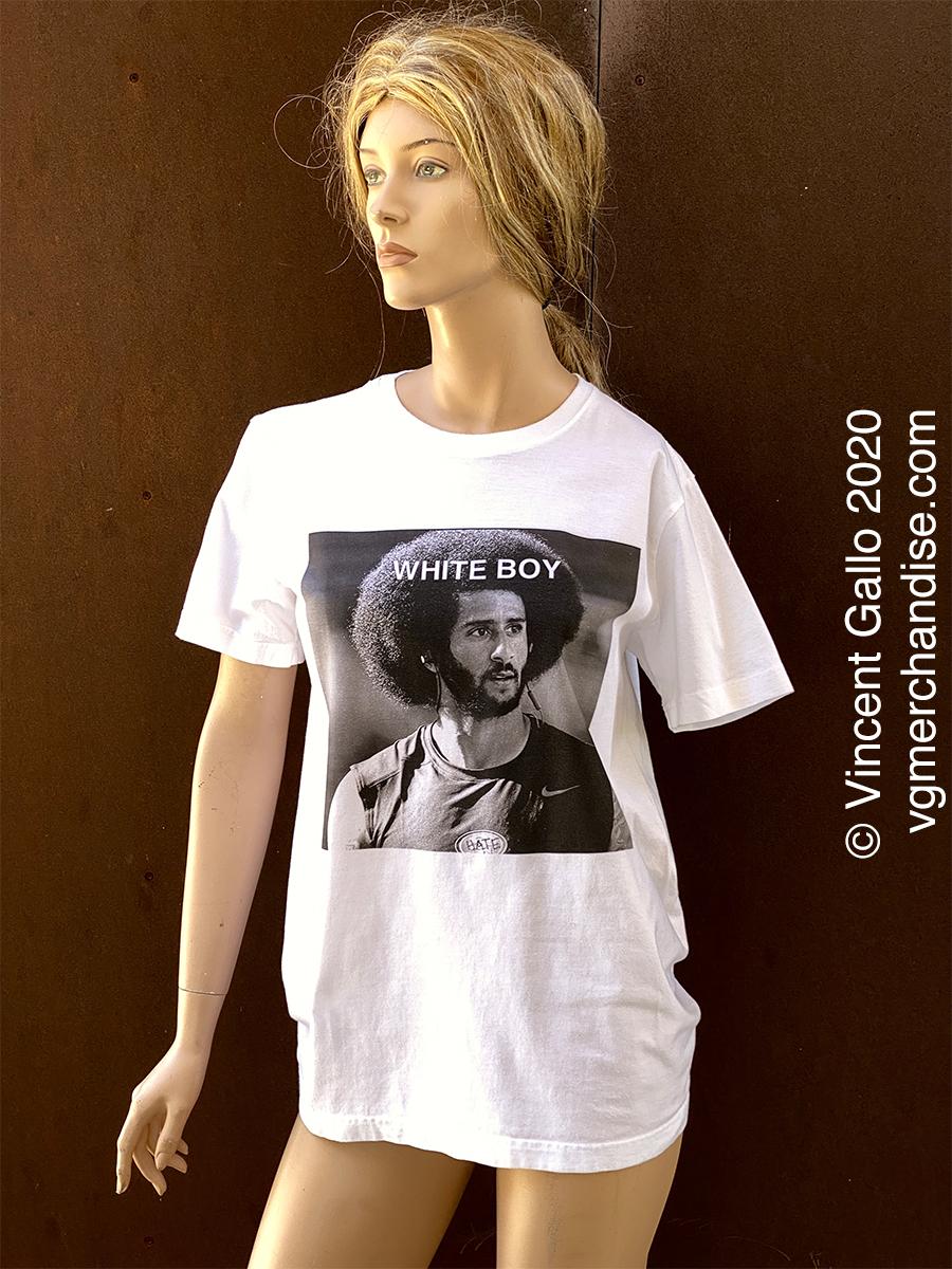 "5. ""WHITE BOY""  Vincent Gallo 2020 (modeled)"