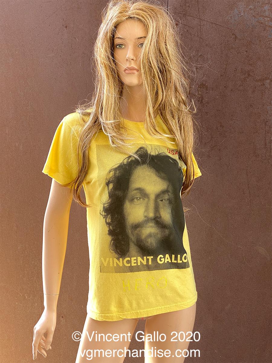 "50. ""VINCENT GALLO""  Vincent Gallo 2020 (modeled)"