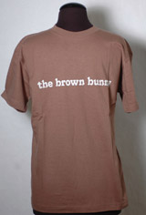 The Brown Bunny T-Shirt, Your color choice of Brown, Grey, or Green