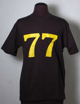 "The Brown Bunny ""77"" T-Shirt (Black)"