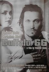 Buffalo 66 Silver Glitter Poster