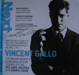 Next Magazine (USA, Issue 12.08, August 27, 2004, signed by Vincent Gallo)
