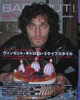Barfout! Magazine (Japan, Dec 2003, Vol. 100, signed by Vincent Gallo)