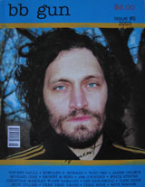 bb gun Magazine (Issue # 6, 2003, signed by Vincent Gallo)