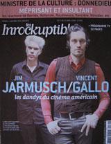 Les Inrockuptibles Magazine (France, April 13, 2004, No. 436, signed by Vincent Gallo)