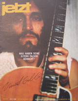 Jetzt Magazine (Germany, No. 48, Nov. 23, 1998. signed by Vincent Gallo)