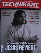 Technikart Magazine (France, No. 81, April 2004, signed by Vincent Gallo)