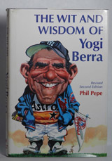 Vincent Gallo's Daily Read The Wit and Wisdom of Yogi Berra Autographed by Vincent Gallo