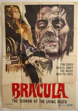 Bracula Vintage Film Poster