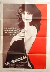 La Inmoral (L'Immorale) Vintage Film Poster