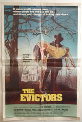 The Evictors Vintage Film Poster