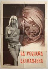 La Pequena Extranjera Vintage Film Poster