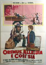 Oremus, Alleluia E Cosi' Sia Vintage Film Poster