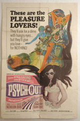 Pysch-Out Vintage Film Poster