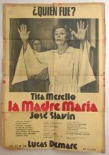 La Madre Maria Vintage Film Poster