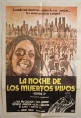 La Noche De Los Muertos Vivos (Zombie 2: The Dead are Among Us) Vintage Film Poster