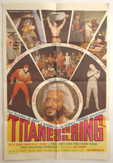 Titanes En El Ring Vintage Film Poster
