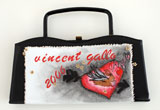 Black Purse - One of a kind by Vincent Gallo
