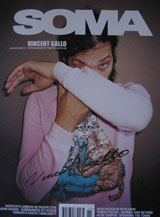 SOMA Magazine (Vol. 15.9, November 2001, signed by Vincent Gallo)