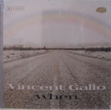Vincent Gallo: When  Limited Hardbound Edition (Stereo) LP