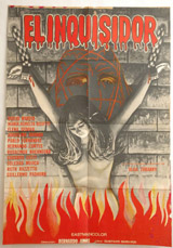 El Inquisidor Vintage Film Poster