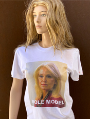 "11. ""ROLE MODEL""  Vincent Gallo 2020 one-of-a-kind, hand made T-shirt"