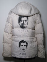 "Reagan Bush ""Campaign Trail"" Helmut Lang Parka by Vincent Gallo"