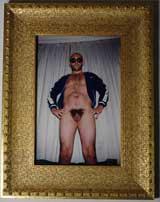 """Noe"" Photograph Of Gaspar Noe By Vincent Gallo, 2000"